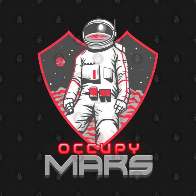 Occupy Mars Astronaut