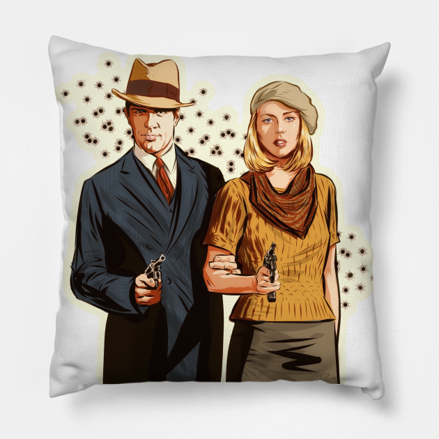 Bonnie and Clyde - An illustration by Paul Cemmick