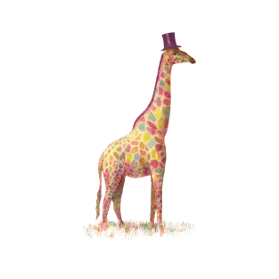 Fashionable Giraffe
