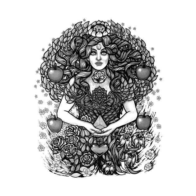 Divine Mother Nature Tree Goddess