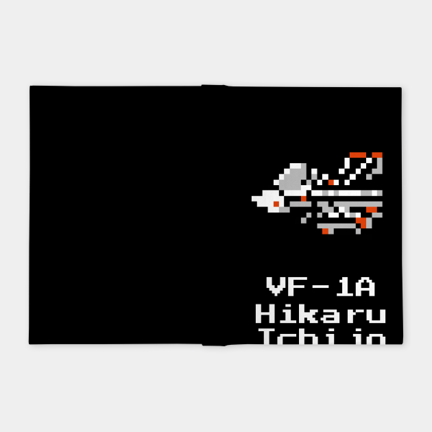 Asplenia Studios: 8bit DYRL VF-1A Hikaru fighter
