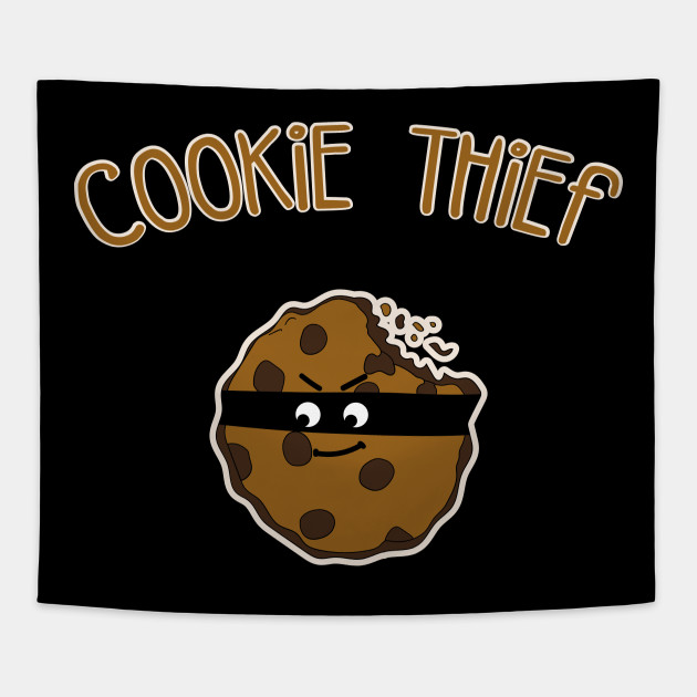 Cookie Thief Xmas christmas baking cookies gift