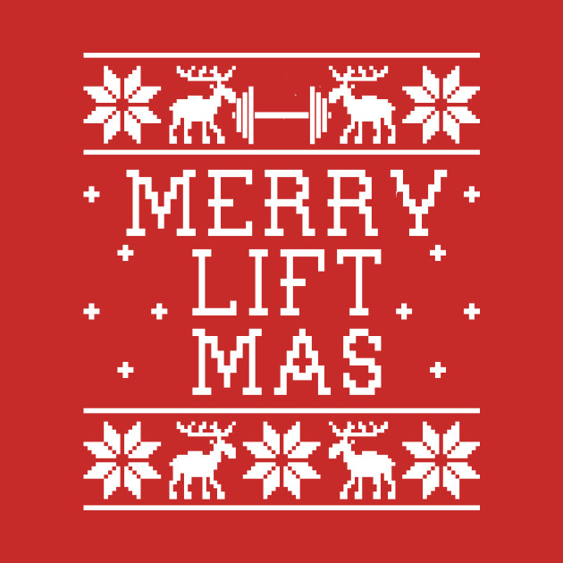 Ugly Christmas Sweater Design.Merry Lift Mas Ugly Christmas Sweater Design
