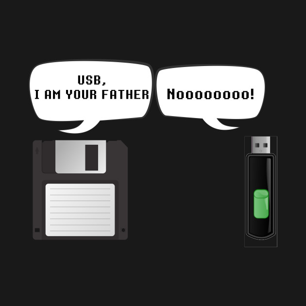 87ad7d2b55 USB I Am Your Father! Funny Geek Computer - Funny Geeks - Kids T ...