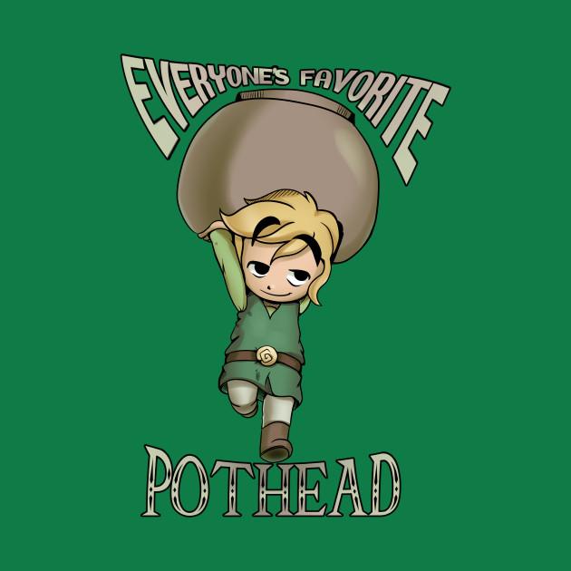 Diabolical Pothead Toon Link