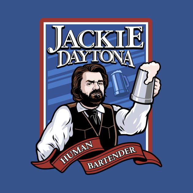 Jackie Daytona- Regular Human Bartender