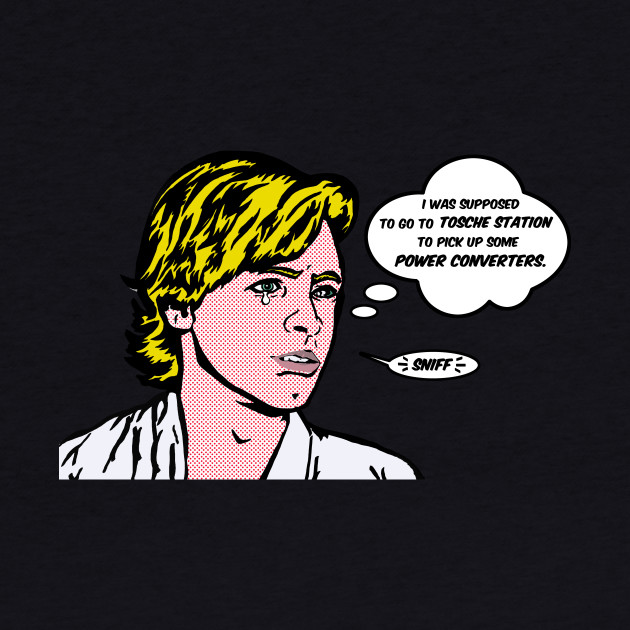 Luke Skywalker Lichtenstein