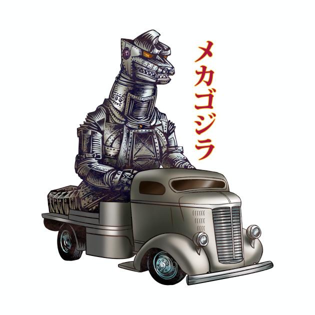 Mechagodzilla Monster Truck