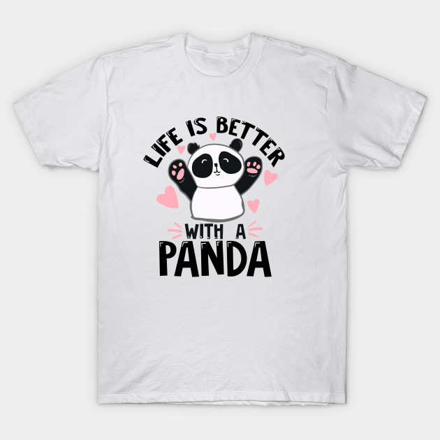 65b63891c Cool Funny Cute Unique Best Graphic Image Retro Panda Enthusiast Quotes  Sayings Memes Slogan Statemtent Gift Idea T-Shirt T-Shirt