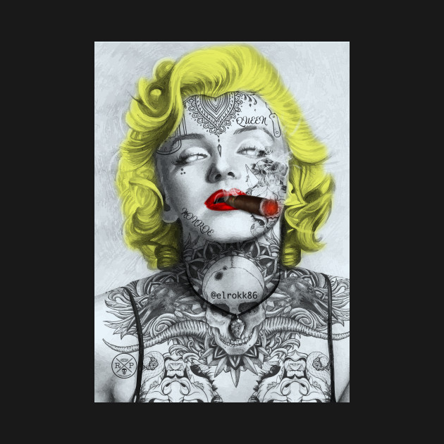 Tattooed Monroe