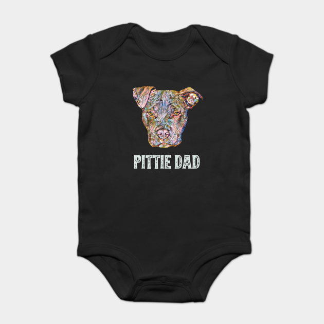 American Pit Bull Terrier Dad Father's Day Gift