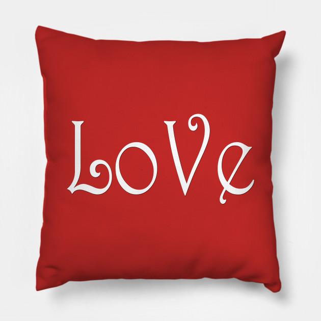 Cuscini Love.Love Just Love Cuscino Teepublic It