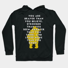 b1fc5ae4e6bf Winnie the Pooh Motivation Hoodie