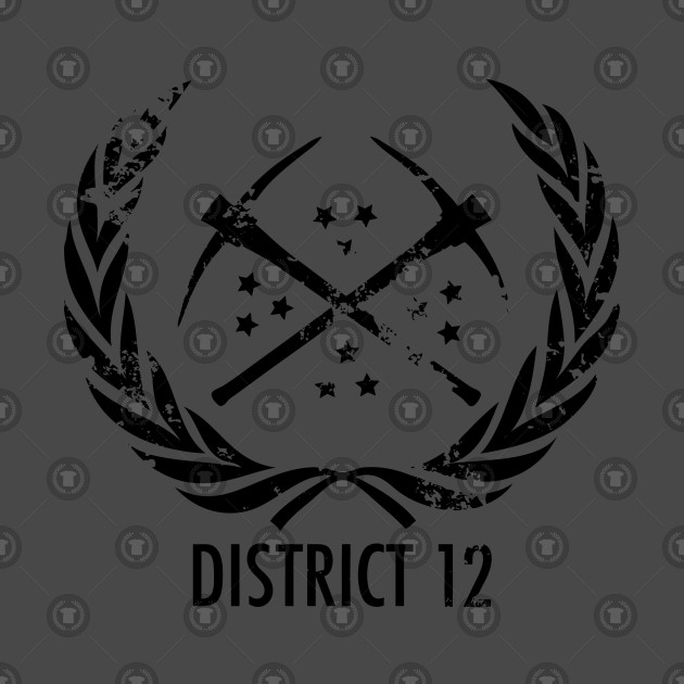 District 12 The Hunger Games T Shirt Teepublic
