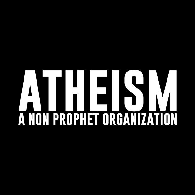 Atheism Is a Non Profit Organization