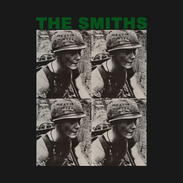The Smiths Meat Is Murder Rock Music Band