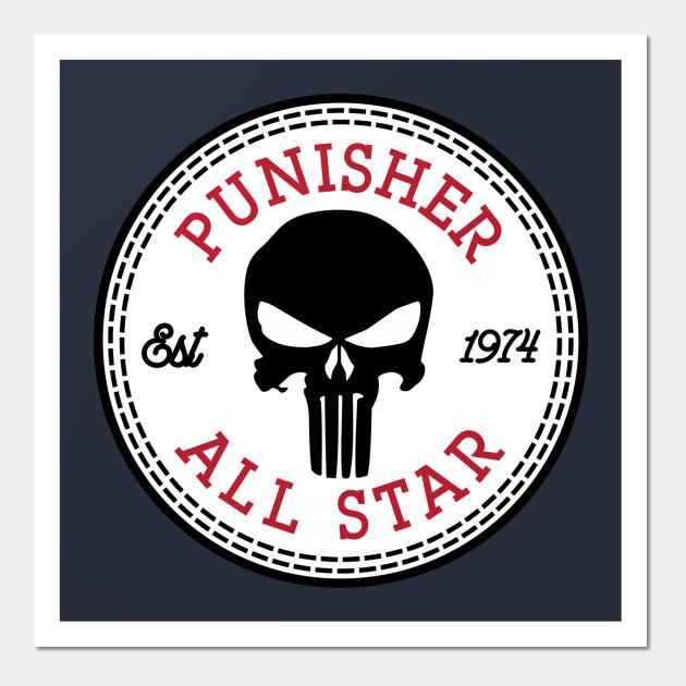 cc0647fd2c937 Punisher All Star Converse Logo