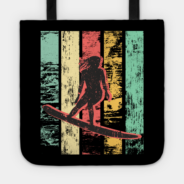 Cool Vintage Surfing Womens Girl Beach Surfer Surf Boards