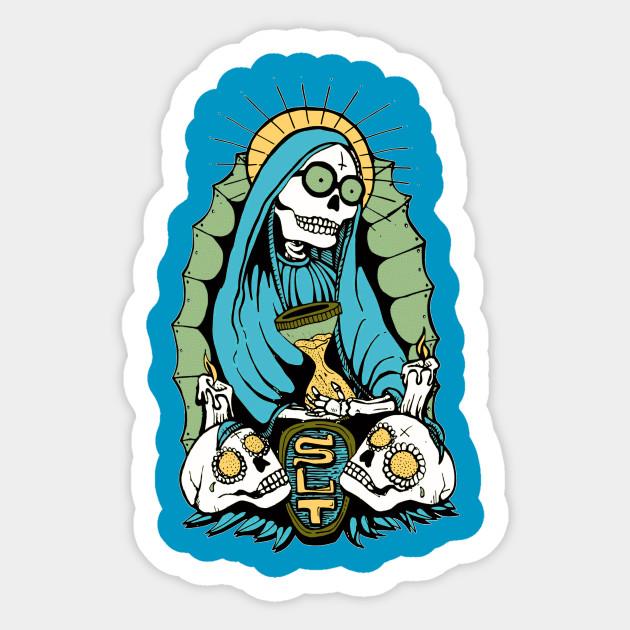 Santa Muerte Santa Muerte Sticker Teepublic