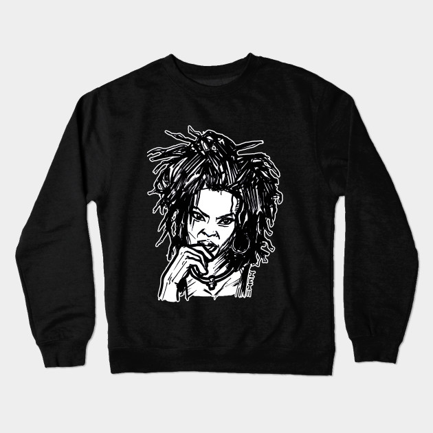 86b4941d4 Miseducation Lauryn Hill Fugee - Old School - Crewneck Sweatshirt ...