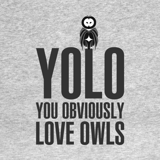You obviously love owls