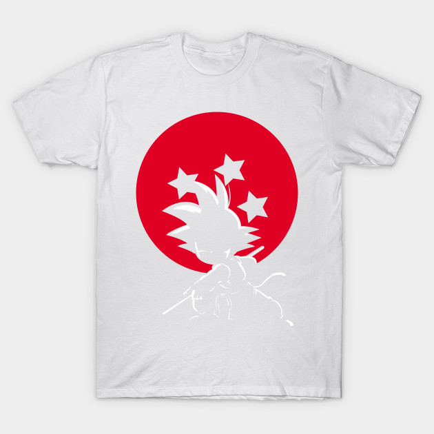 RED BALL SILHOUETTE GOKU T-Shirt-TOZ