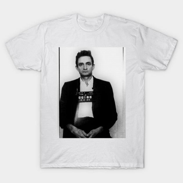 d55393c8180 Johnny Cash Mug Shot - Johnny Cash - T-Shirt