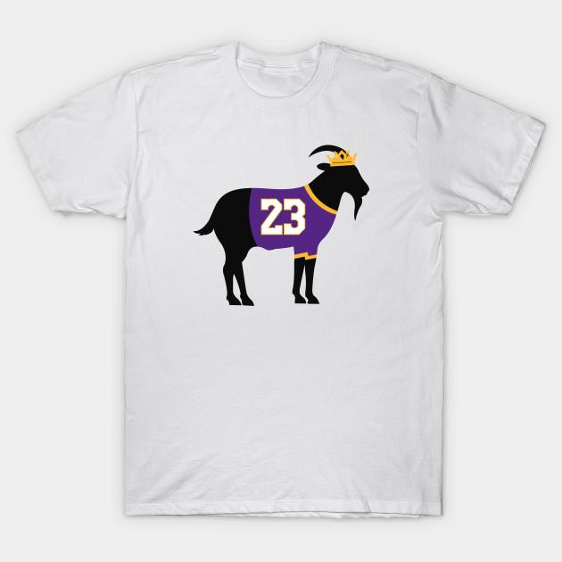 bf24d89ad113 Lakers Lebron James Goat - Lebron James - T-Shirt