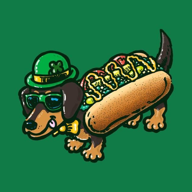 St Patricks Day Chicago Dog