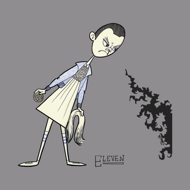 """Eleven from """"Stranger Things"""""""