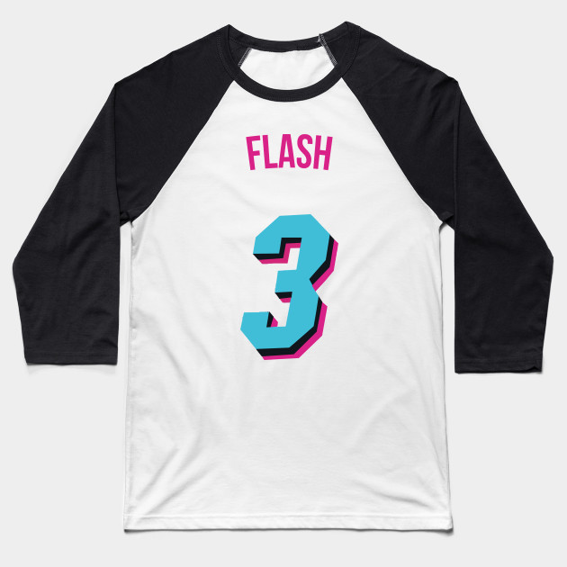 official photos afd7e c01e2 Dwyane Wade 'Flash' Nickname Jersey - Miami Heat