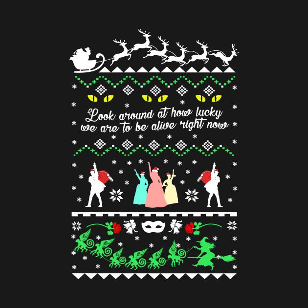 Broadway Ugly Christmas Sweatshirt