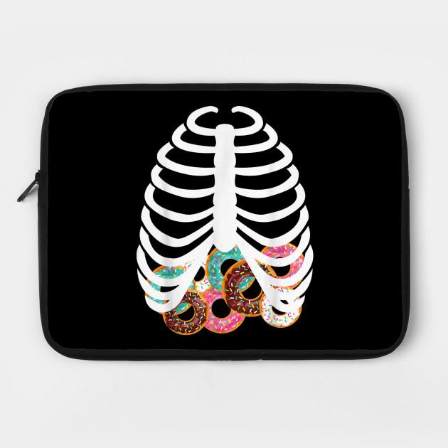 Halloween Adult Kids Food Costume Rib Cage Skeleton Donuts