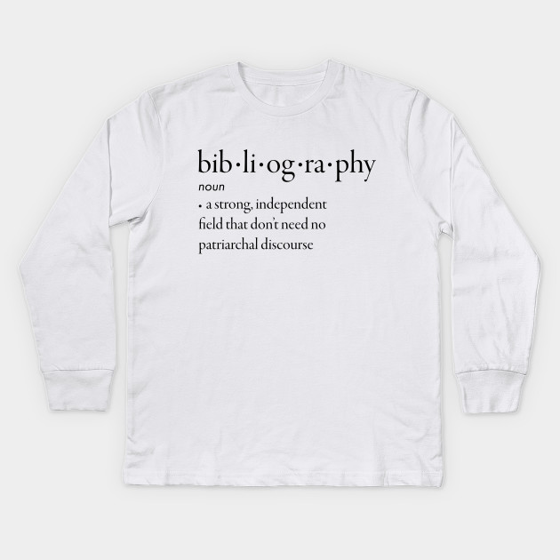 what is a bibliography for kids