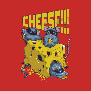 fe5bb2435 Cheese T-Shirts | TeePublic