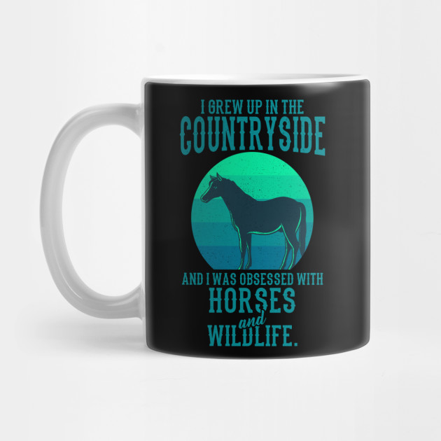 Horses And Wildlife Gift For Animal Lovers