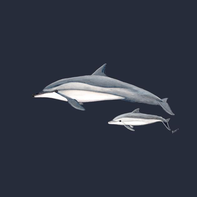 Long-beaked dolphin