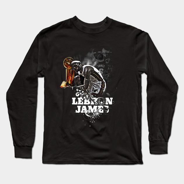 Lebron James - Lebron James - Long Sleeve T-Shirt  40003e8a1