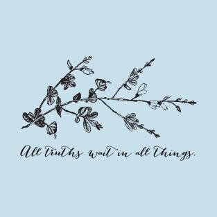 walt whitman flowers