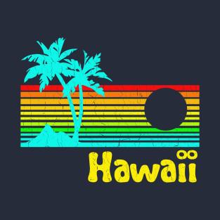 '80s Retro Vintage Hawaii (distressed look) t-shirts