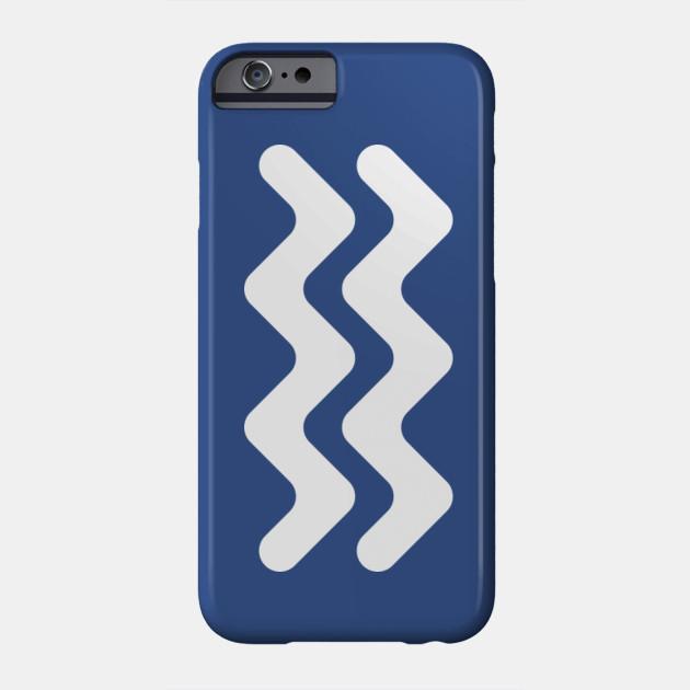 Aquarius Zodiac Symbol Aquarius Phone Case Teepublic