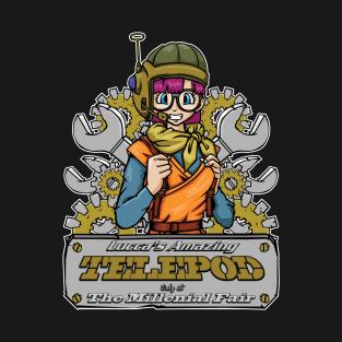 Lucca's Amazing Telepod t-shirts