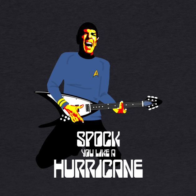 Spock You (White Font)