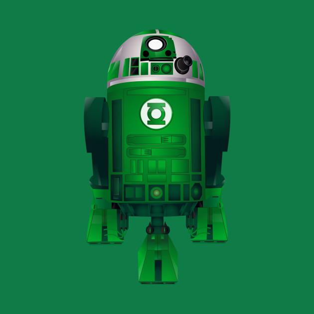 Green Lantern droid