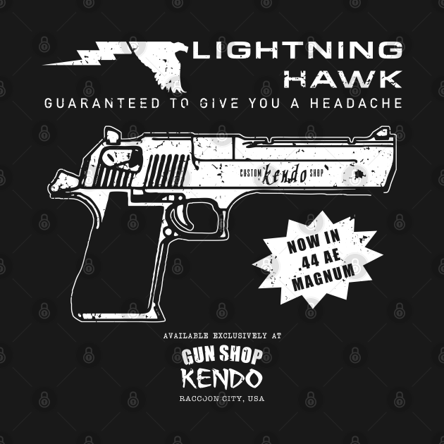 Lightning Hawk - wht