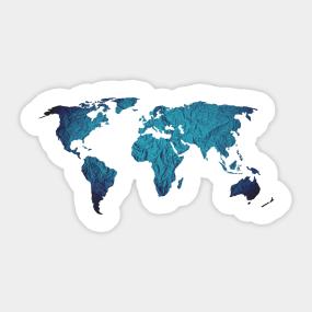Travel stickers teepublic world travel sticker gumiabroncs Images