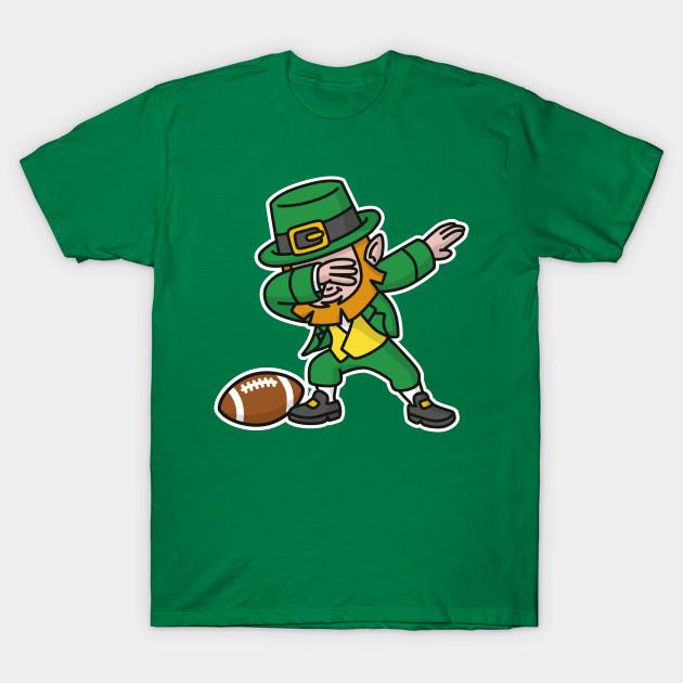 Dab Dabbing Leprechaun St Patrick S Day Rugby Leprechaun T