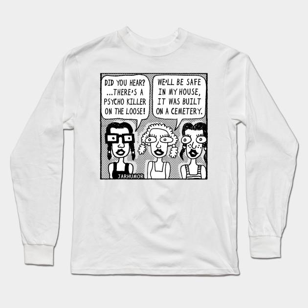 abce5f29 Horror Movie Sleepover - Nerd - Long Sleeve T-Shirt   TeePublic