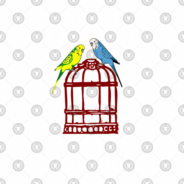 Budgie Love Pets Parrot Gift