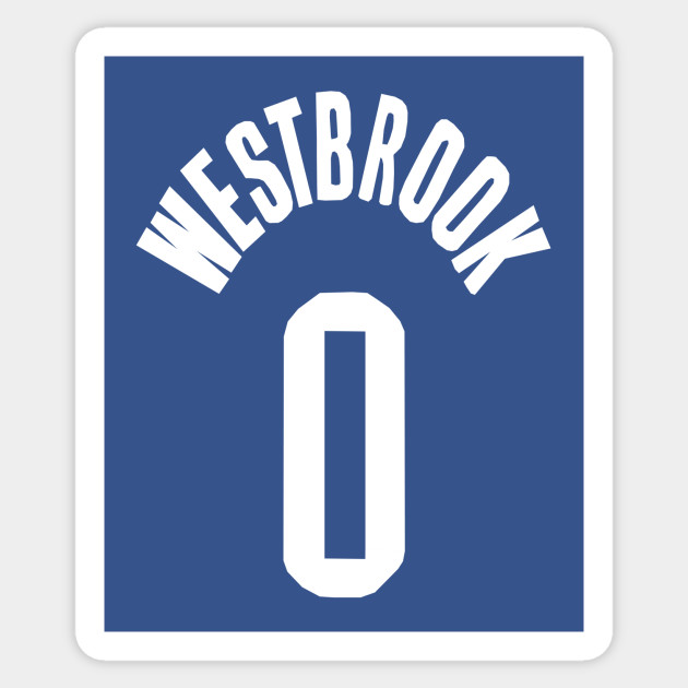 huge discount 657b8 c2246 Russell Westbrook Jersey